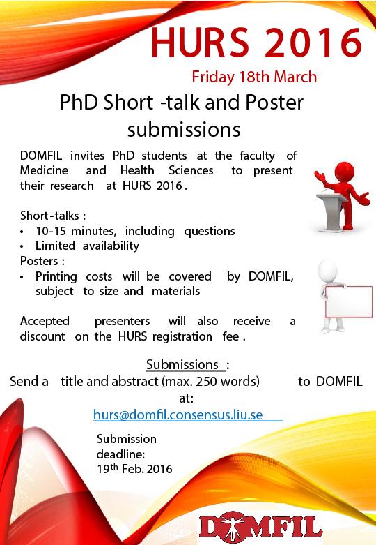 PhD presentation - HURS 2016